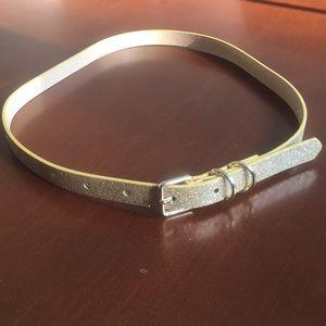 NWOT FOREVER 21 gold belt